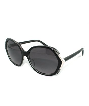 Black Geometric Sunglasses