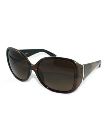 Brown Bold Butterfly Sunglasses