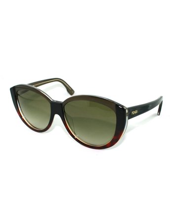 Black Tortoise Crisp Cat-Eye Sunglasses