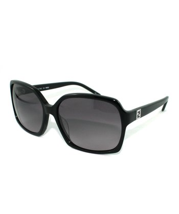 Black Geometric Butterfly Sunglasses