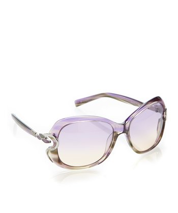 Green & Lilac Melissa Sunglasses