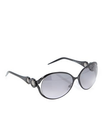Black & Dark Gray Gradient Giacinto Sunglasses