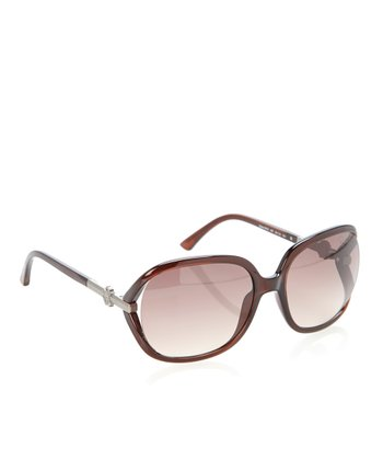Brown Gradient Edera Sunglasses