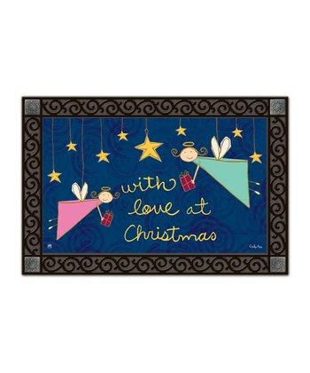 Seasonal Angels Doormat