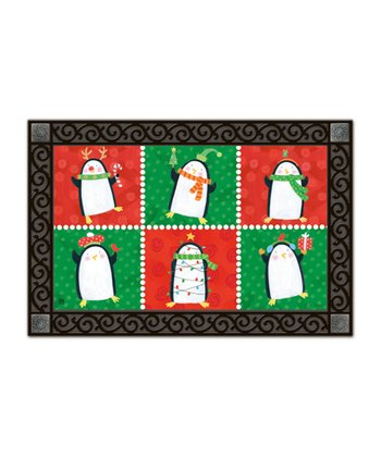 Penguin Pals Doormat