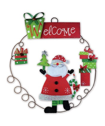 Christmas Cheer 'Welcome' Sign