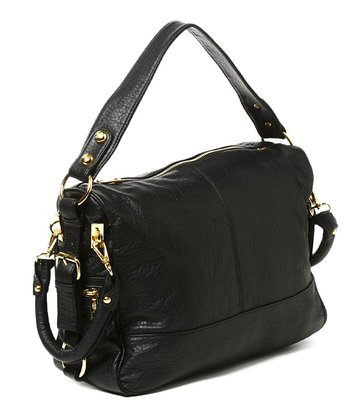 Black Mira Satchel