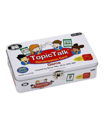 Topic Talk Card Game