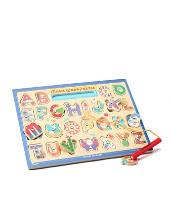 Alphabet Magic Wand Puzzle