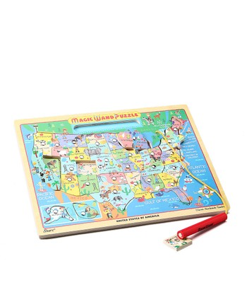 USA Map Magic Wand Puzzle
