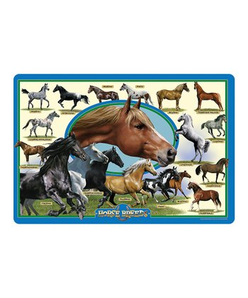 Horse Breeds Floor Puzzle