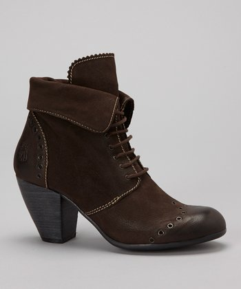 Dark Brown Abil Bootie