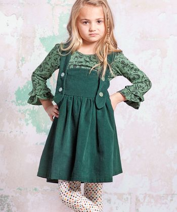 Green Monaco Ollay Jumper - Infant, Toddler & Girls