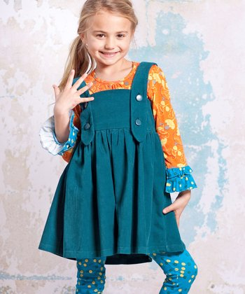 Teal Agra Ollay Jumper - Infant, Toddler & Girls