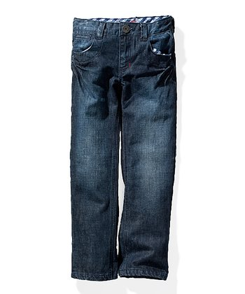 Dark Wash Jack Jeans - Toddler & Boys