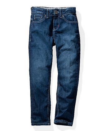 Stone Wash Wonderworld Jeans - Toddler & Boys