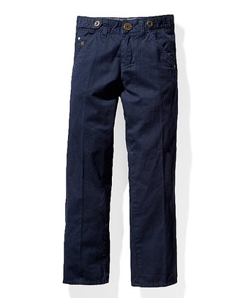 Dark Blue Beaver Jeans - Toddler & Boys