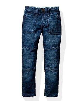Stone Wash Rainbow Jeans - Toddler & Boys