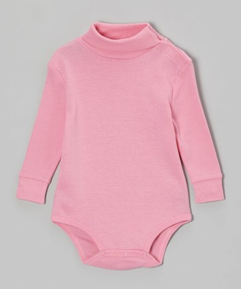 Pink Turtleneck Bodysuit - Infant