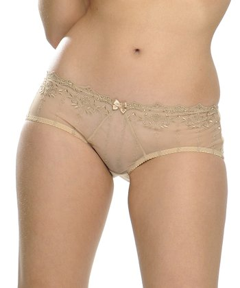 Nude Emily Boyshorts - Women & Plus