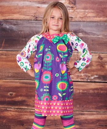 Telluride Allison Dress & Leggings - Infant, Toddler & Girls