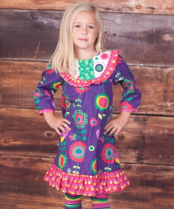 Telluride Jessica Dress & Leggings - Infant, Toddler & Girls