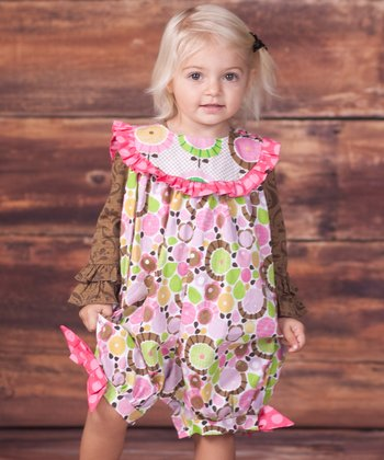 Brown Emma Top & Montrose Britany Romper - Infant