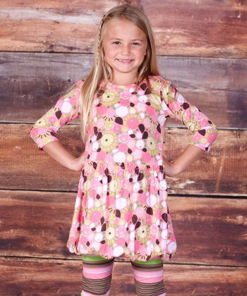 Montrose Maggie Bubble Dress & Leggings - Girls