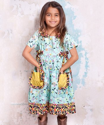 Blue Bees Laura Pocket Dress - Infant, Toddler & Girls