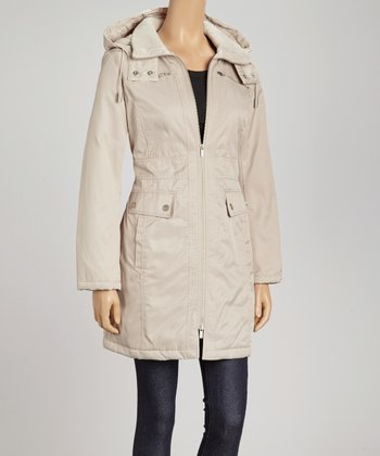 Parchment Down Coat - Women