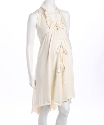 Pretty Pushers Natural Organic Delivery Gown