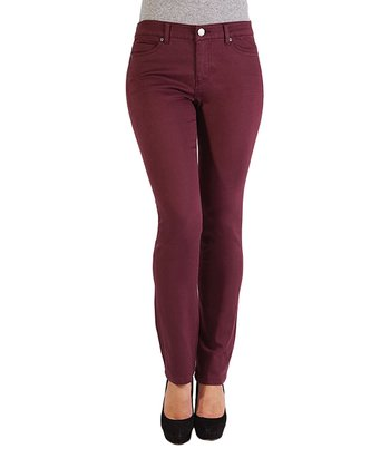 Liverpool Jeans Company Currant Sadie Straight-Leg Jeans