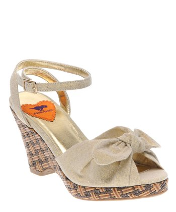Natural Buried Treasure Karisma Wedge Sandal