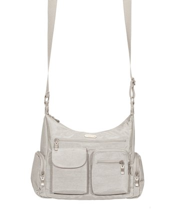 Silver Everywhere Crossbody Bag