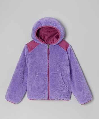 Lilac Reversible Jacket - Girls
