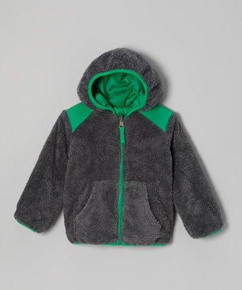 Charcoal Reversible Jacket - Boys