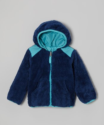 Navy Reversible Jacket - Boys