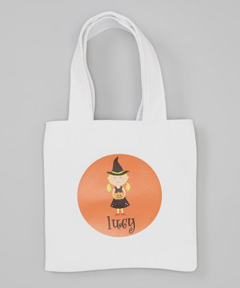 Blonde Witch Personalized Tote