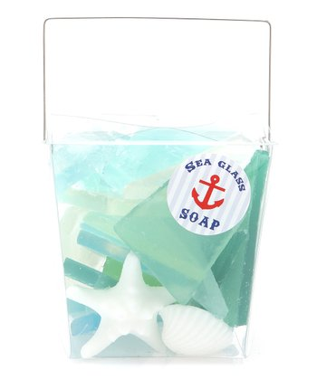 Sea Glass & Shells Soap Set