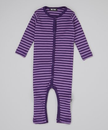 Crown Jewel Stripe Playsuit - Infant