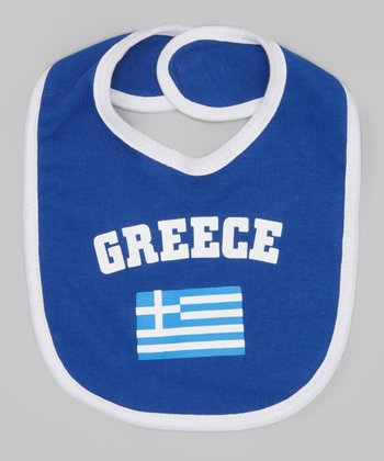 Royal 'Greece' Flag Bib