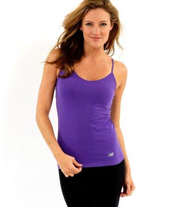 Purple Seamless Camisole