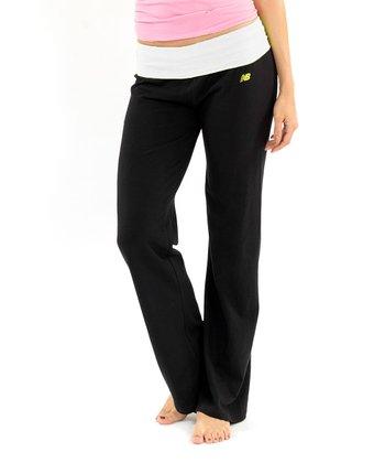 White & Caviar Black Lounge Pants
