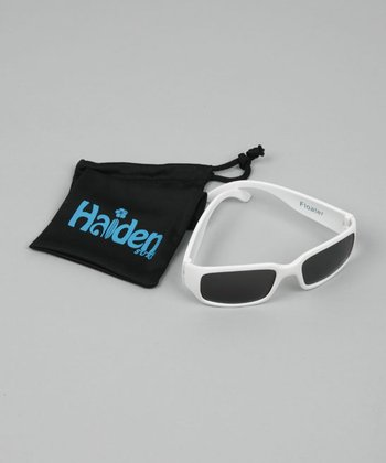 White Floater Sunglasses