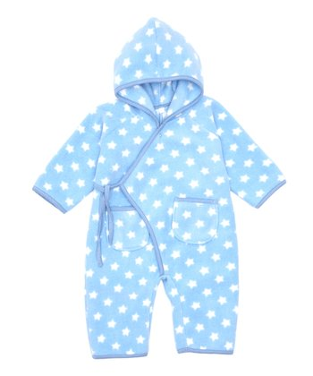 Blue Star Fleece Wrap Playsuit - Infant & Toddler