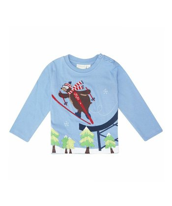 Blue Ski Tee - Infant, Toddler & Kids