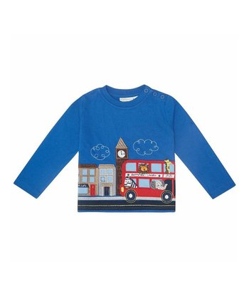 Blue Bus Tee - Infant, Toddler & Kids