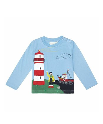Blue Lighthouse Tee - Infant, Toddler & Kids