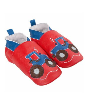 Red Tractor Leather Booties