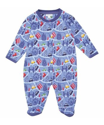 Blue London Footie - Infant